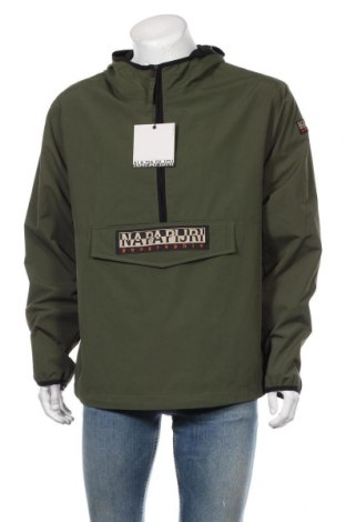 Мъжко яке Napapijri, Размер L, Цвят Зелен, 100% полиамид, Цена 246,75лв.