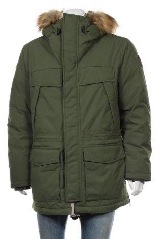 Мъжко яке Napapijri, Размер L, Цвят Зелен, 100% полиамид, Цена 269,79лв.