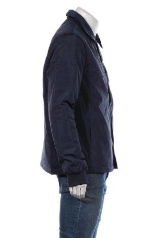 Мъжко яке New Look, Размер L, Цвят Син, Полиестер, Цена 32,36лв.