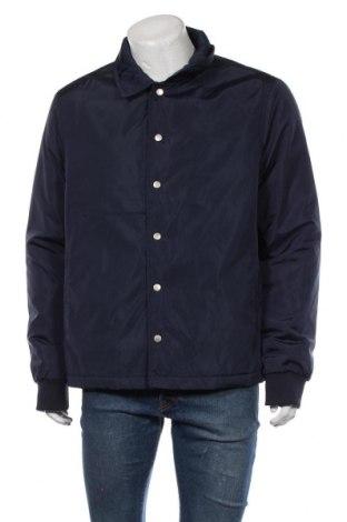 Мъжко яке New Look, Размер XL, Цвят Син, Полиестер, Цена 32,36лв.