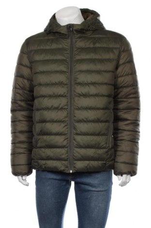 Ανδρικό μπουφάν Only & Sons, Μέγεθος L, Χρώμα Πράσινο, Πολυεστέρας, Τιμή 30,54€