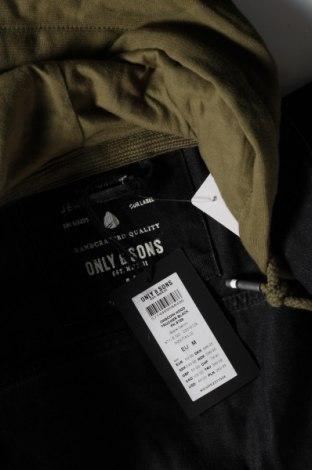 Мъжко яке Only & Sons, Размер M, Цвят Черен, Памук, Цена 53,24лв.