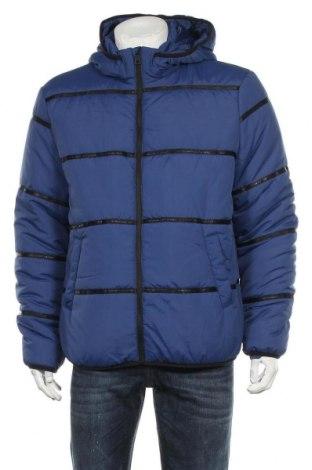 Ανδρικό μπουφάν Only & Sons, Μέγεθος XL, Χρώμα Μπλέ, Πολυεστέρας, Τιμή 34,41€
