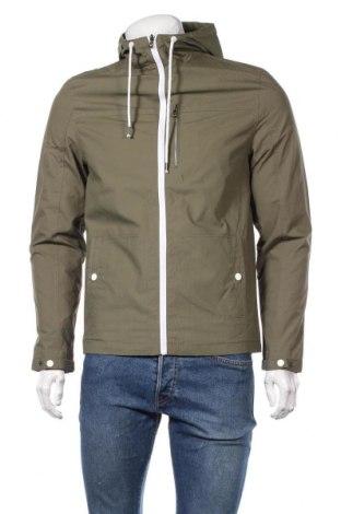 Мъжко яке Pier One, Размер S, Цвят Зелен, 100% памук, Цена 59,25лв.