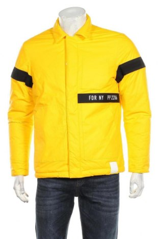 Мъжко яке Replay, Размер M, Цвят Жълт, Полиамид, еластан, полиуретан, Цена 206,55лв.
