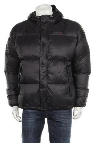 Мъжко яке Schott, Размер M, Цвят Черен, Полиамид, пух и пера, Цена 336,75лв.