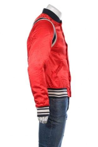 Ανδρικό μπουφάν Scotch & Soda, Μέγεθος M, Χρώμα Κόκκινο, Βισκόζη, Τιμή 57,55€