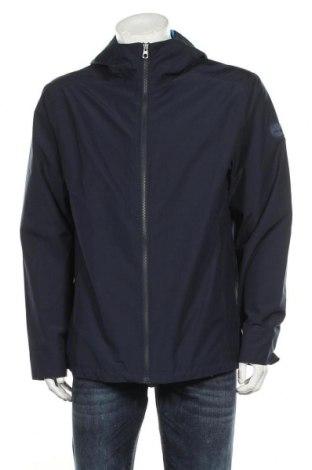 Ανδρικό μπουφάν Timberland, Μέγεθος L, Χρώμα Μπλέ, 80% πολυεστέρας, 20% βαμβάκι, Τιμή 96,26€