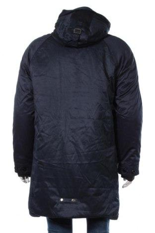 Мъжко яке Tom Tailor, Размер L, Цвят Син, 45% памук, 44% полиестер, 11% полиамид, Цена 89,79лв.