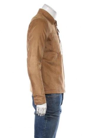 Мъжко яке Topman, Размер S, Цвят Кафяв, Полиестер, Цена 44,70лв.