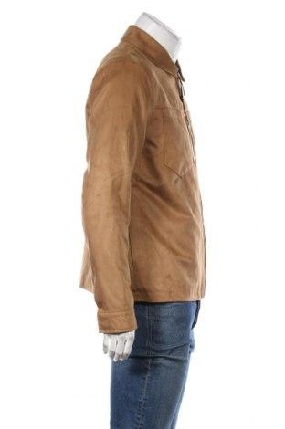 Мъжко яке Topman, Размер M, Цвят Кафяв, Полиестер, Цена 44,70лв.
