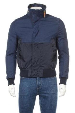 Geacă de bărbati Zara Man, Mărime M, Culoare Albastru, 52% bumbac, 44% poliamidă, 4% elastan, Preț 79,54 Lei