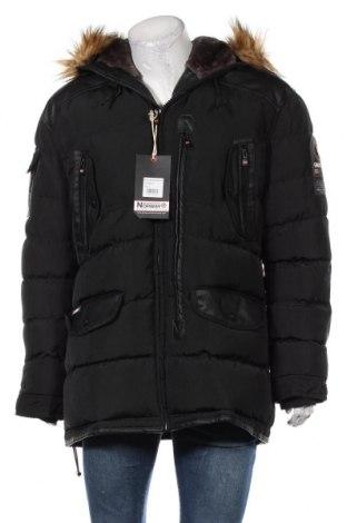 Geacă de bărbati Geographical Norway, Mărime XL, Culoare Negru, Poliester, piele ecologică, Preț 400,43 Lei