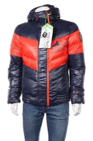 Мъжко яке за зимни спортове Superdry, Размер M, Цвят Син, Полиамид, пух и пера, Цена 177,12лв.