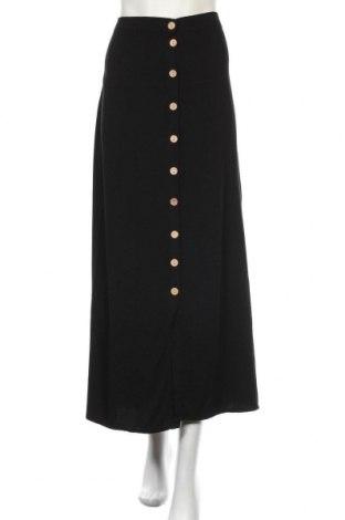 Sukně Boohoo, Velikost XL, Barva Černá, 100% lyocell, Cena  533,00Kč