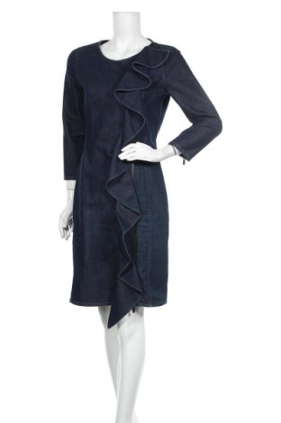 Šaty  Armani Jeans, Velikost XL, Barva Modrá, 65% bavlna, 35% polyester, Cena  1865,00Kč