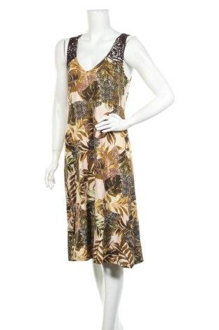 Φόρεμα Cream, Μέγεθος L, Χρώμα Πολύχρωμο, 96% βισκόζη, 4% ελαστάνη, Τιμή 46,01€