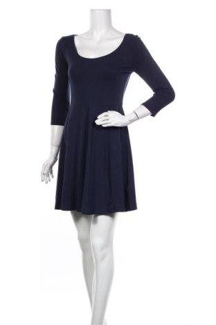 Φόρεμα H&M, Μέγεθος M, Χρώμα Μπλέ, 95% βαμβάκι, 5% ελαστάνη, Τιμή 13,46€