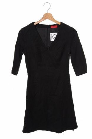 Šaty  Hugo Boss, Velikost XS, Barva Černá, 99% vlna, 1% elastan, Cena  1746,00Kč
