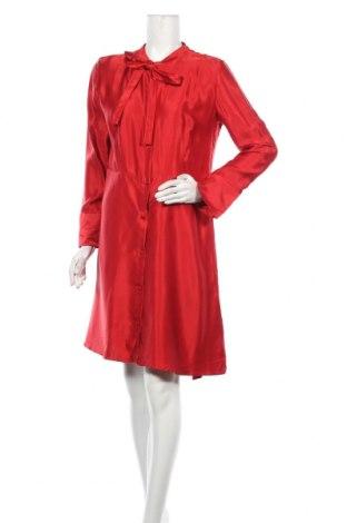 Šaty  Hugo Boss, Velikost L, Barva Červená, Viskóza, Cena  4989,00Kč
