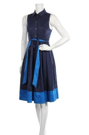 Рокля Kate Spade, Размер M, Цвят Син, 70% памук, 27% полиамид, 3% еластан, Цена 171,75лв.
