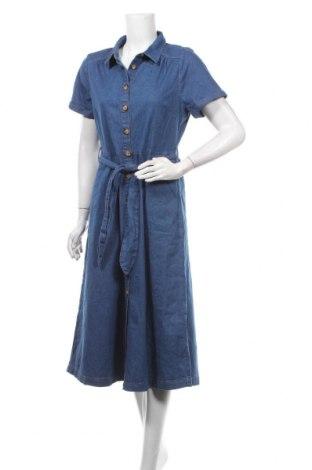 Rochie King Louie, Mărime L, Culoare Albastru, 99% bumbac, 1% elastan, Preț 192,44 Lei