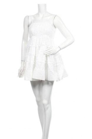 Рокля Lace & Beads, Размер S, Цвят Бял, Памук, Цена 126,75лв.