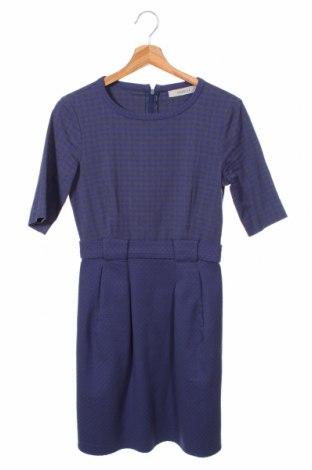 Šaty  Marella, Velikost XS, Barva Modrá, 58% bavlna, 37% polyamide, 5% elastan, Cena  1387,00Kč