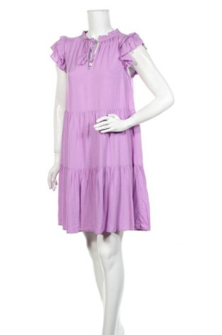 Šaty  Pieces, Velikost M, Barva Fialová, 100% viskóza, Cena  487,00Kč