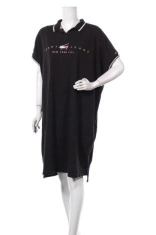Рокля Tommy Hilfiger, Размер 3XL, Цвят Черен, Памук, Цена 104,25лв.