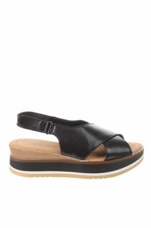 Σανδάλια Gabor, Μέγεθος 38, Χρώμα Μαύρο, Γνήσιο δέρμα, Τιμή 42,14€
