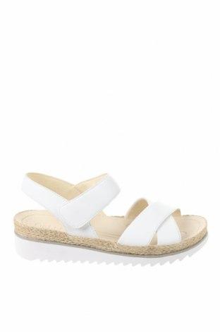 Σανδάλια Gabor, Μέγεθος 41, Χρώμα Λευκό, Γνήσιο δέρμα, Τιμή 56,19€