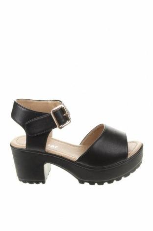 Сандали Koi footwear, Размер 36, Цвят Черен, Еко кожа, Цена 51,75лв.