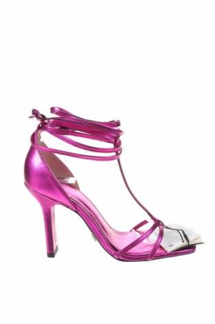 Σανδάλια Zara, Μέγεθος 36, Χρώμα Βιολετί, Δερματίνη, Τιμή 8,54€