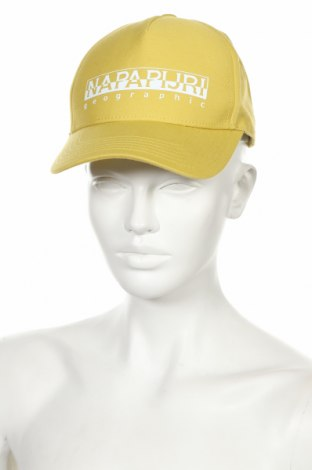 Čepice  Napapijri, Barva Žlutá, 60% bavlna, 40% polyester, Cena  750,00Kč