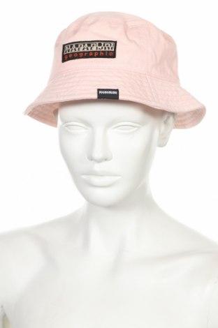 Čepice  Napapijri, Barva Růžová, Bavlna, Cena  750,00Kč