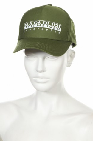 Čepice  Napapijri, Barva Zelená, 60% bavlna, 40% polyester, Cena  750,00Kč