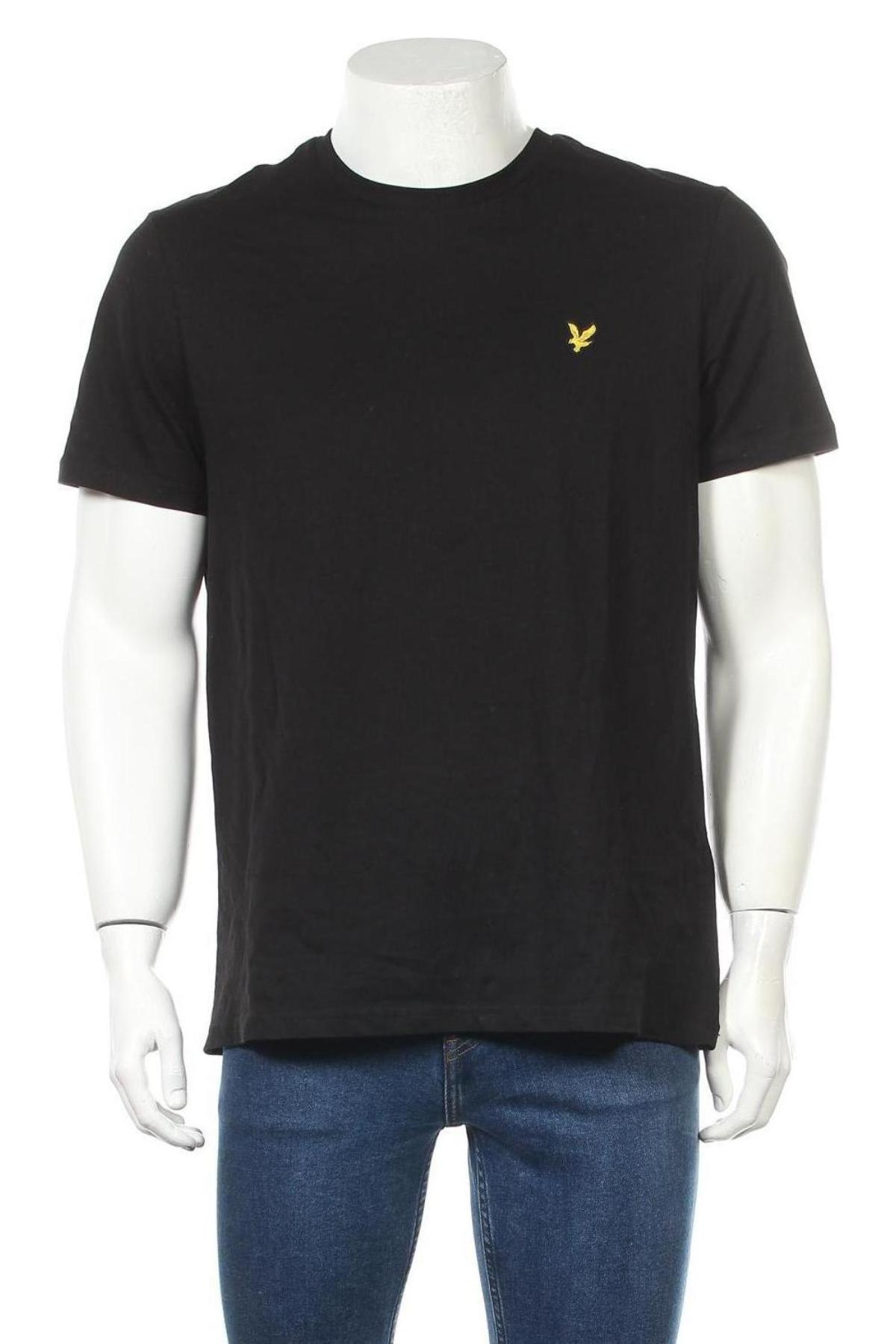 Ανδρικό t-shirt Lyle & Scott, Μέγεθος L, Χρώμα Μαύρο, Βαμβάκι, Τιμή 19,56€