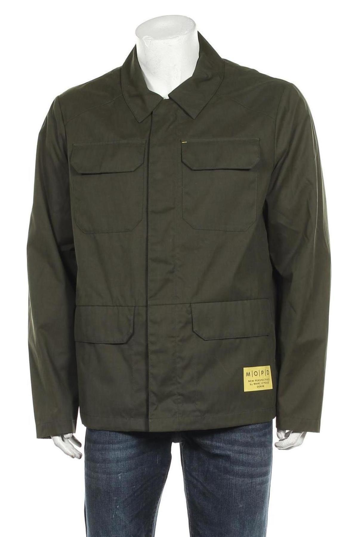 Мъжко яке Marc O'Polo, Размер XL, Цвят Зелен, 50% полиестер, 41% памук, 9% полиамид, Цена 201,75лв.