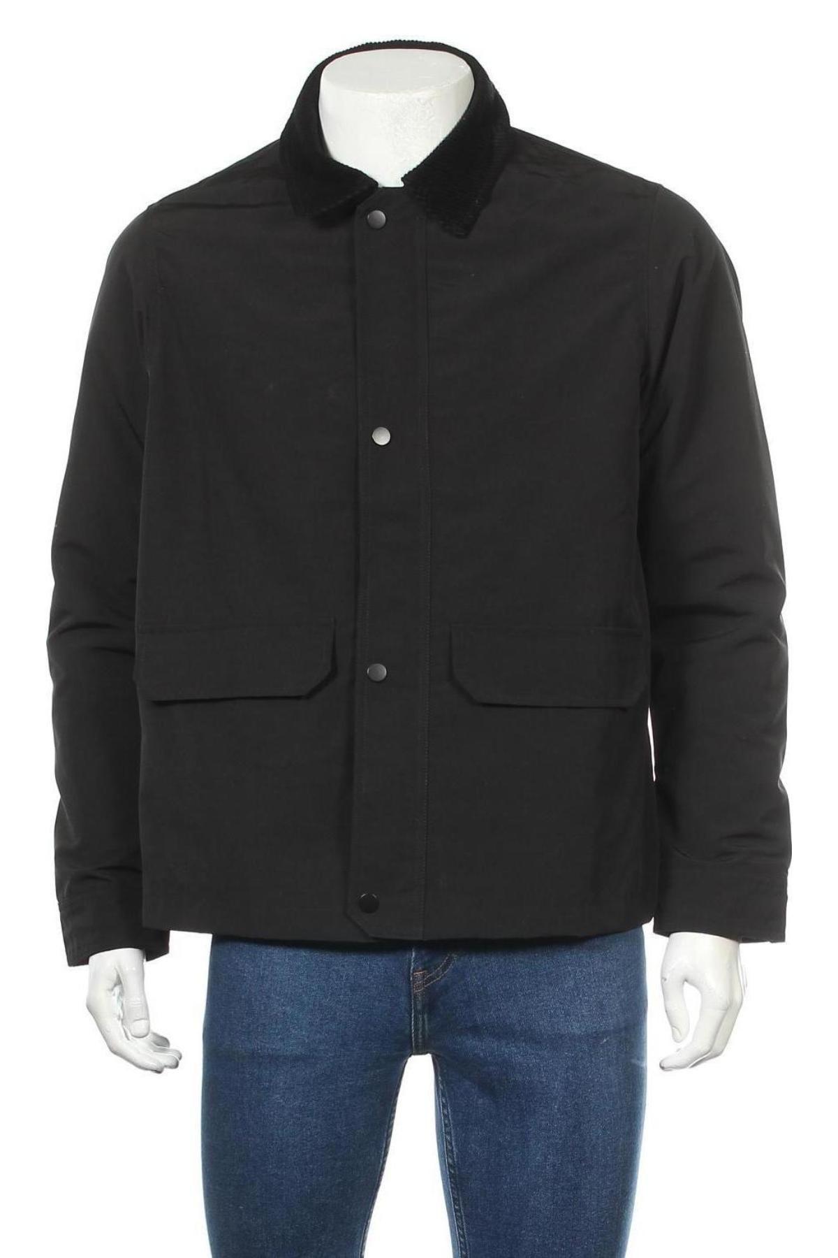 Мъжко яке New Look, Размер M, Цвят Черен, Полиестер, Цена 36,57лв.