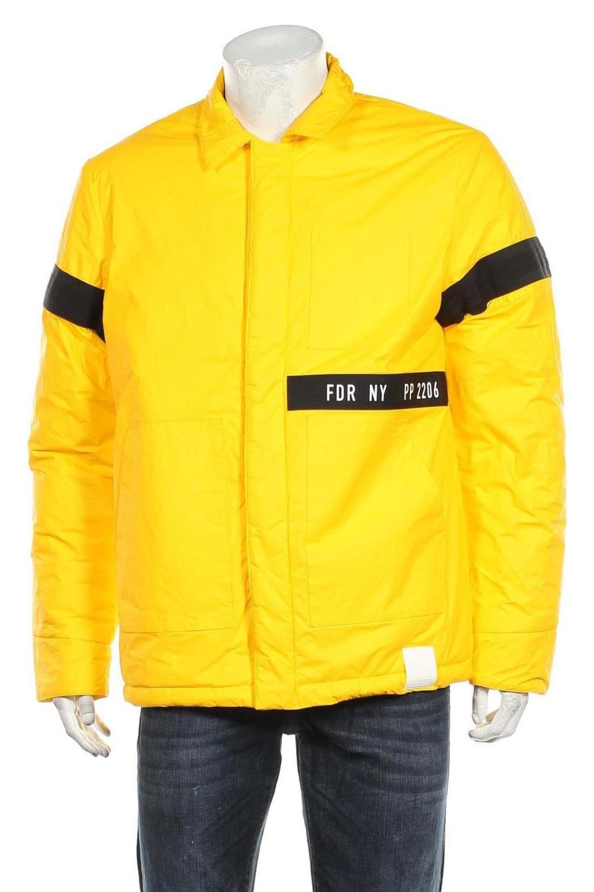 Мъжко яке Replay, Размер XL, Цвят Жълт, Полиамид, еластан, полиуретан, Цена 206,55лв.