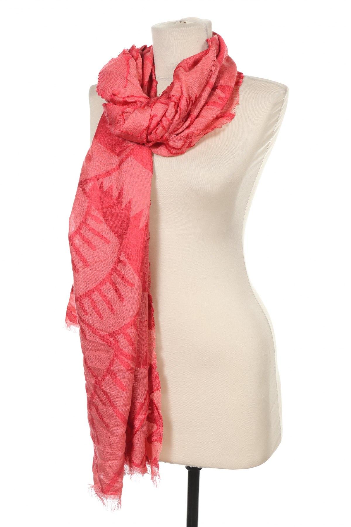 Šála Desigual, Barva Růžová, Viskóza, Cena  641,00Kč