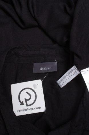 Γυναικείο πουκάμισο Yessica, Μέγεθος XL, Χρώμα Μαύρο, Βισκόζη, Τιμή 12,06€