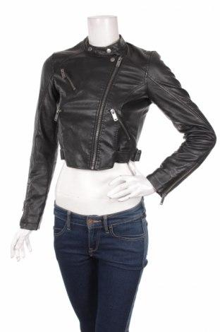8f82ae857461 Γυναικείο δερμάτινο μπουφάν Bershka - αγοράστε σε τιμή που συμφέρει ...