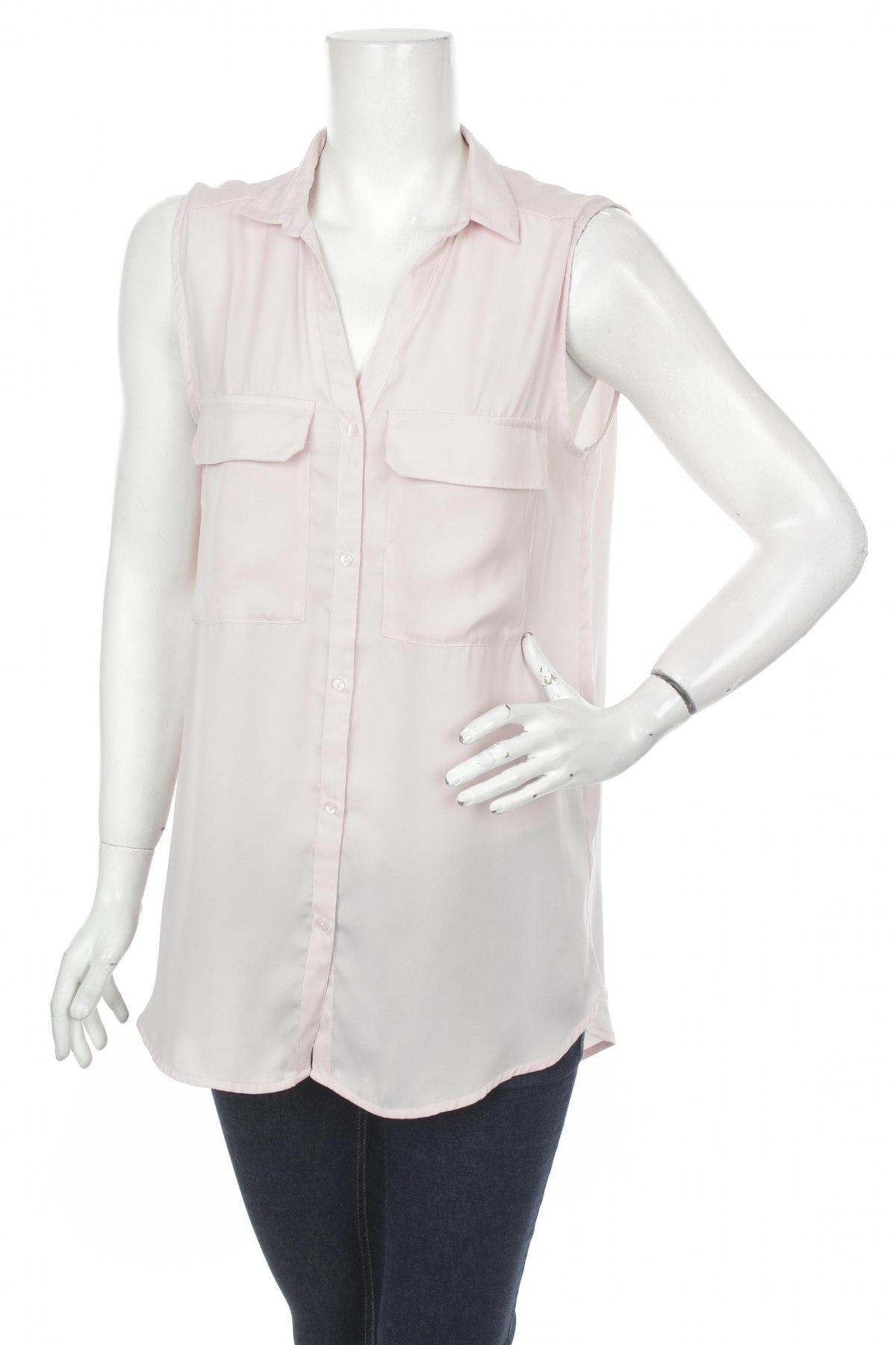 Γυναικείο πουκάμισο H&M, Μέγεθος M, Χρώμα Ρόζ , Τιμή 11,13€