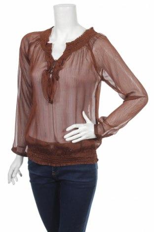 Дамска блуза Multiblu, Размер S, Цвят Кафяв, 100% полиестер, Цена 2,00лв.