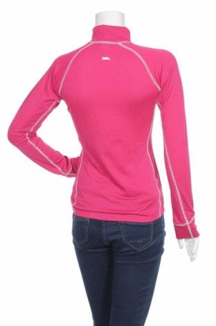Дамска спортна блуза Trespass, Размер S, Цвят Розов, 95% полиестер, 5% еластан, Цена 27,30лв.
