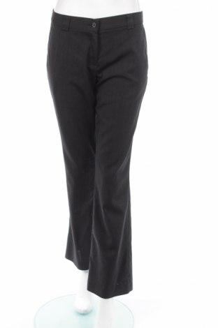 Дамски панталон Harrykson, Размер M, Цвят Сив, 54% полиестер, 44% вълна, 2% еластан, Цена 10,18лв.