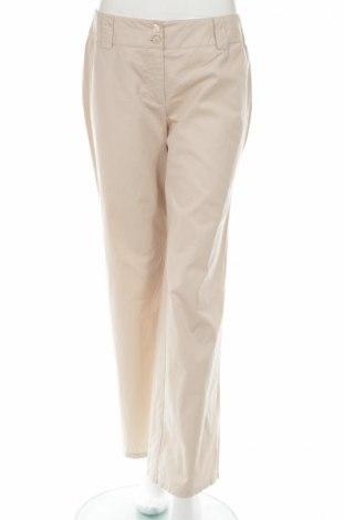 Дамски панталон Woman's Fashion, Размер M, Цвят Бежов, Памук, Цена 7,82лв.