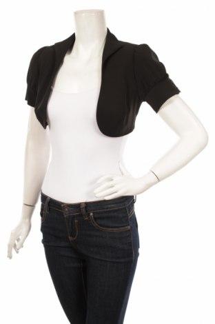 Дамско сако Ginette, Размер S, Цвят Черен, 60% полиестер, 40% вискоза, Цена 7,00лв.